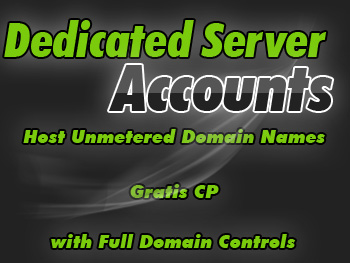 Economical dedicated servers package